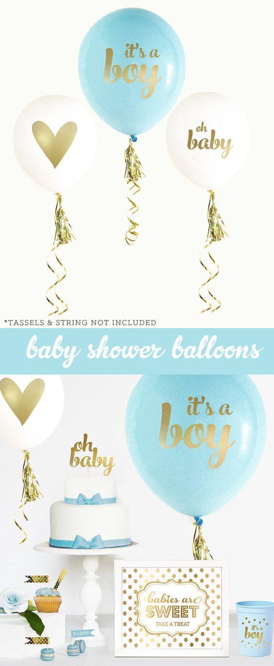 30-ideas-para-organizar-y-decorar-un-baby-shower-para-nino (29) - Curso de Organizacion del hogar