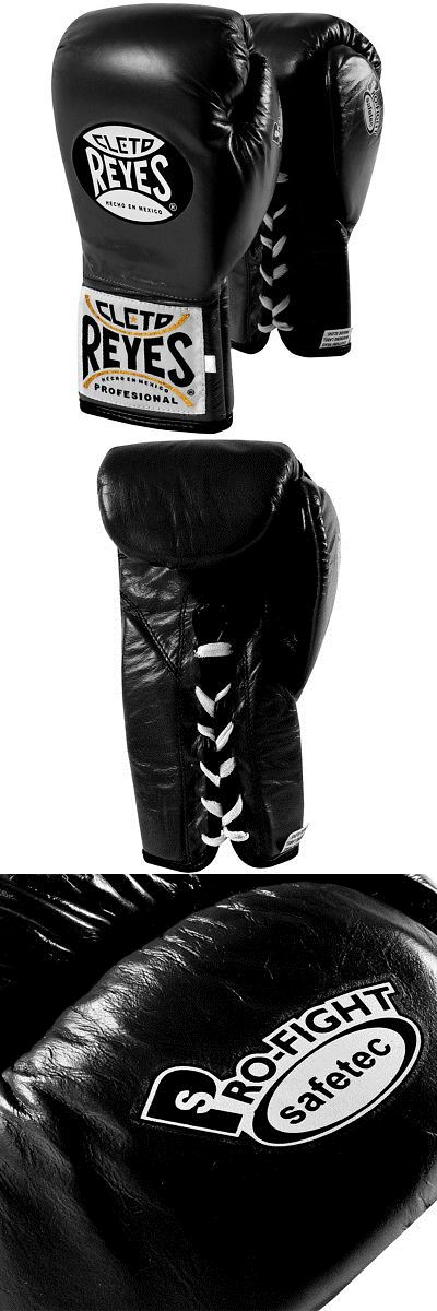 Gloves - Martial Arts 97042: Cleto Reyes Safetec Professional Boxing Fight Gloves - Black -> BUY IT NOW ONLY: $153 on eBay!