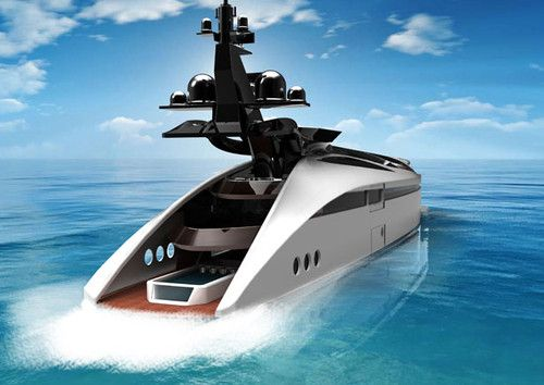Albatross yacht, Tarun Sharma, luxurious yachts, Albatross Yacht, concept yacht, future vehicles, futuristic vehicle