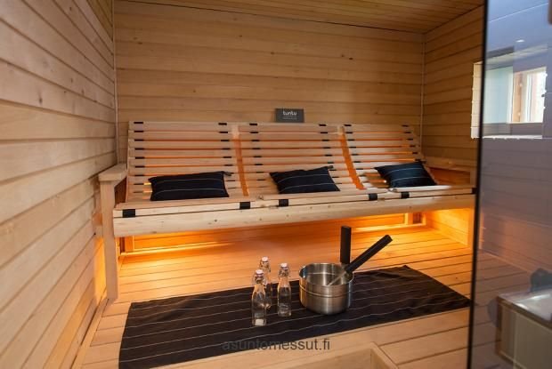 I like the idea, but on the other hand I like to lie down when in sauna.