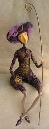 Dimoliart-Art doll  Dmitri Nepomnyaschy and Olga Popugaeva