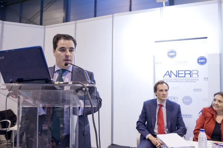 José Carlos Greciano, secreatrio general Anerr (Asociación Nacional de Empresas de Rehabilitación y Reforma) en RCT nº 246 Julio/Agosto