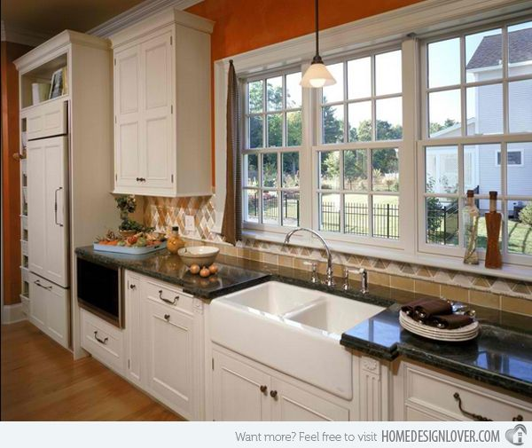 Farm Kitchens With White Cabinets: 1000+ Ideas About White Farmhouse Kitchens On Pinterest