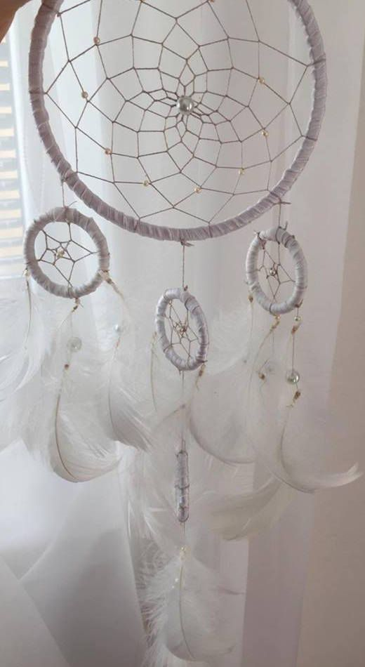 #white#dreamcatcher#dreams