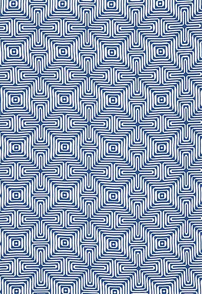 65320 Amazing Maze Ocean by F Schumacher