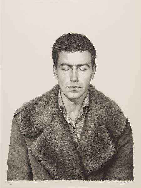 138: Claudio Bravo (Chilean, b. 1936) Fur Coat, Front a : Lot 138