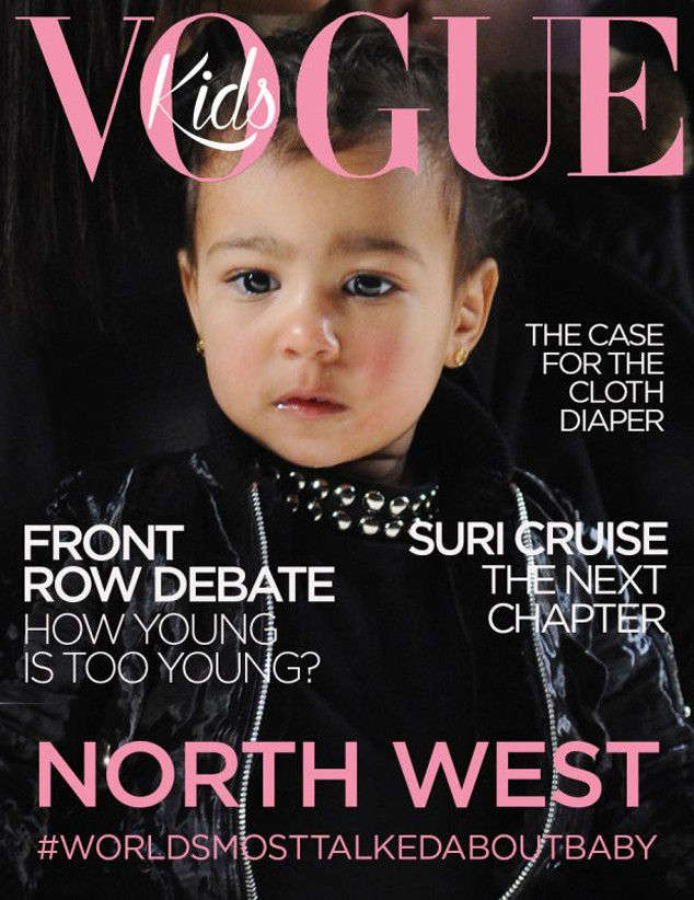 Did North West Land the First Ever Cover of Vogue Kids? Get the Scoop!  North West, April Fool Vogue