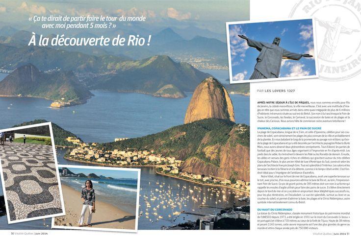 À la découverte de Rio de Janeiro