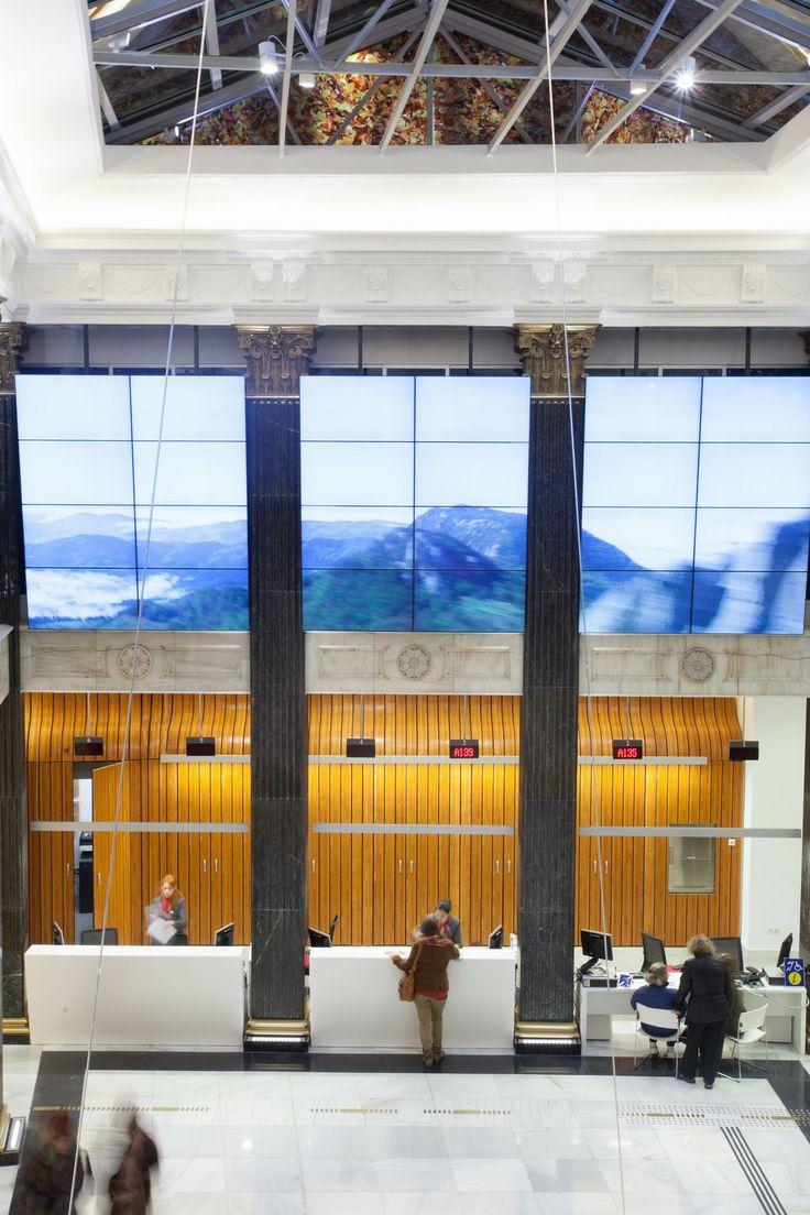 81 best taralux proyectos edificios images on pinterest for Oficinas turismo bilbao