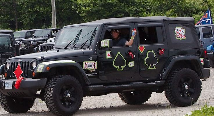 Local Jeep enthusiasts are following in their 2-wheeled friends footsteps and organizing Windsor's 4th Annual Jeep Jam Poker Run.