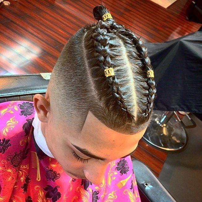 Zopfe Frisuren Fur Manner 2018 Frisuren Herren Frisuren Cool Braid Hairstyles Mens Braids Hairstyles Long Hair Styles Men