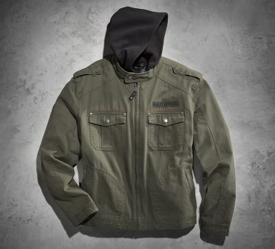 Harley Davidson Jacket Road Warrior  In  Green