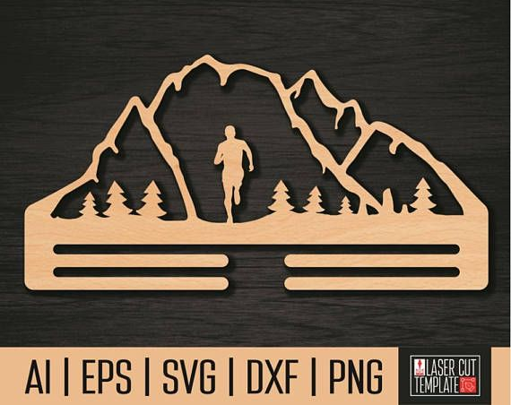 "Woodworking plans,Vector layout holder ""Runner"".Plasma projects, woodworking patterns,cnc dxf files,Cnc file,laser cut file,Instant download"