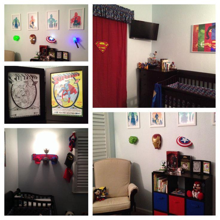The 25 best comic book nursery ideas on pinterest comic for Comic book bedroom ideas