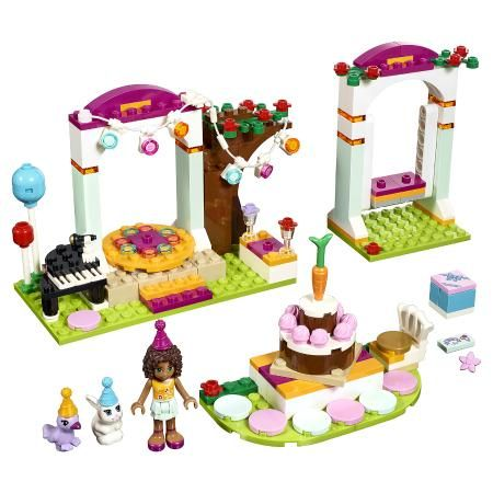 Конструктор LEGO Friends 41110 День рождения - купить, конструктор lego friends 41110 день рождения цена в интернет магазине детских товаров и игрушек «Детский Мир»