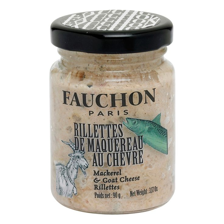 Mackerel and Goat Cheese Rillettes