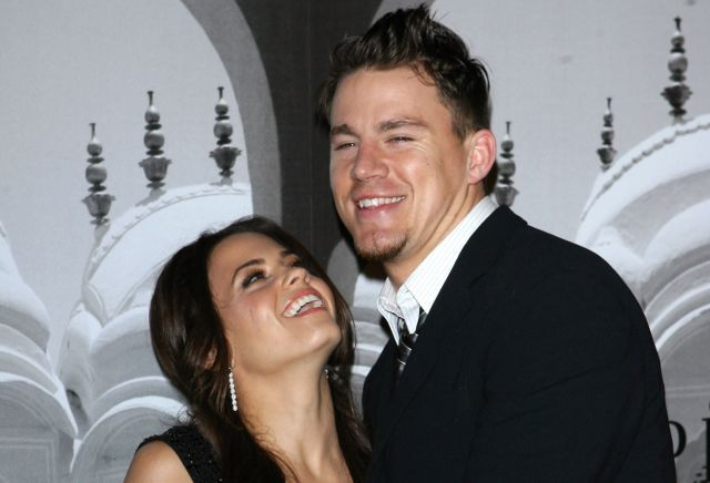 "Channing Tatum ""Was Trying to Run From"" Wife Jenna When They First Met"