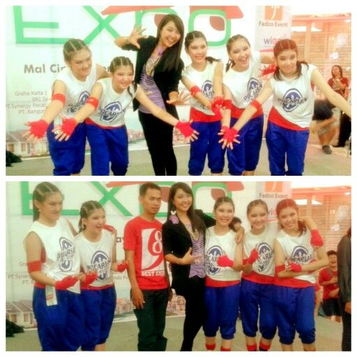 With the winner of dance competition