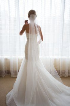 Thinking about doing a long veil like this :)