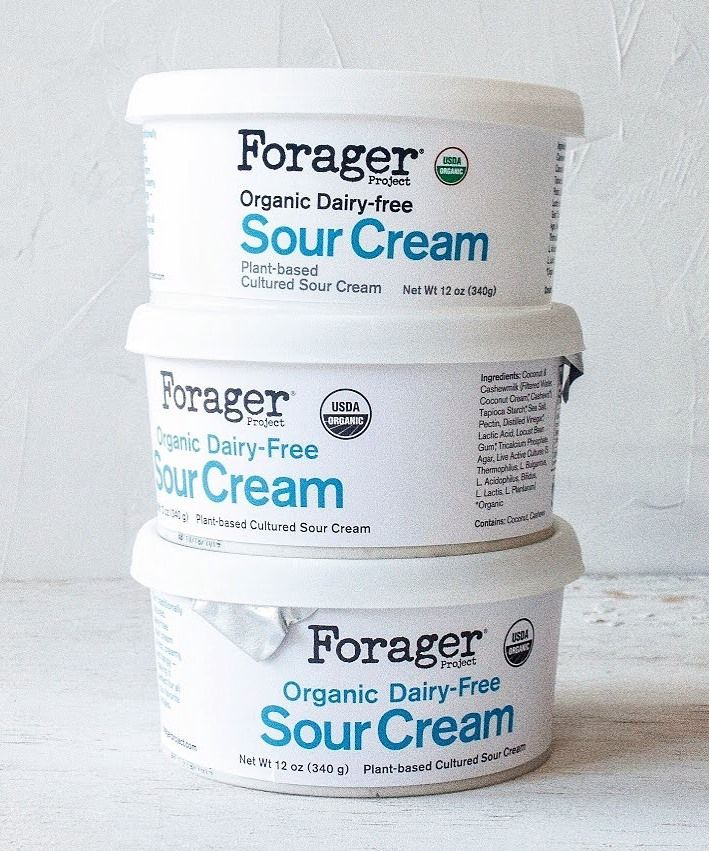 Forager Project Dairy Free Sour Cream Review Info Vegan Dairy Free Vegan Sour Cream Sour Cream Alternative