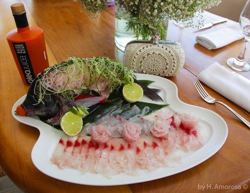 Olea Juice extra virgin #oliveoil served at Nammos Restaurant Mykonos.