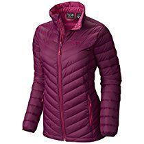 Mountain Hardwear Women's Micro Ratio Down Jacket, Dark Raspberry, Medium