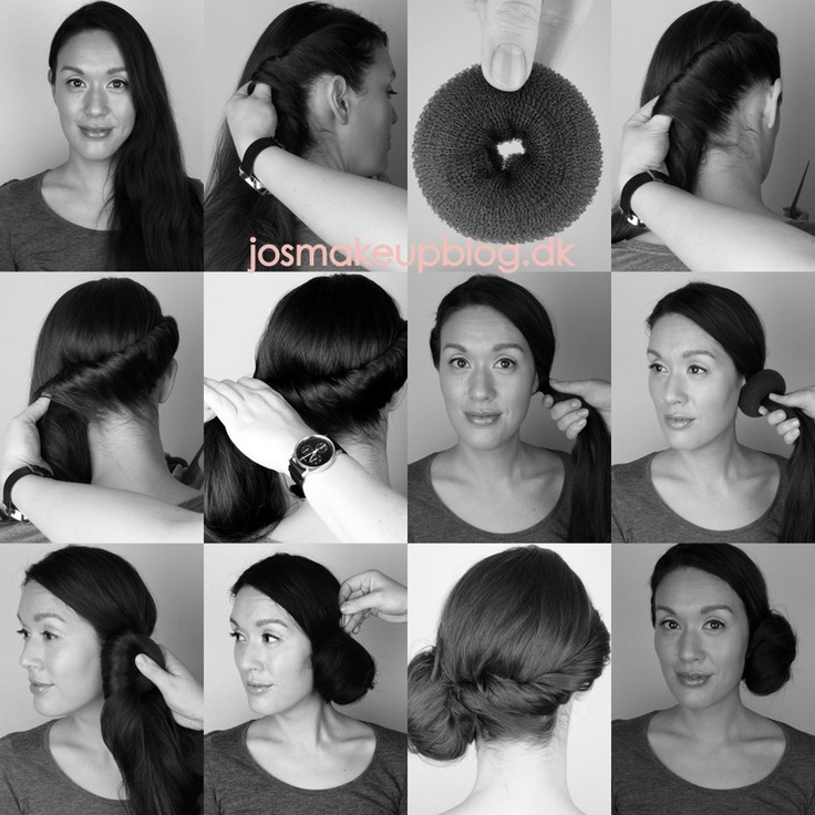 """Hair by me"" DIY on how to use a bunshaper."