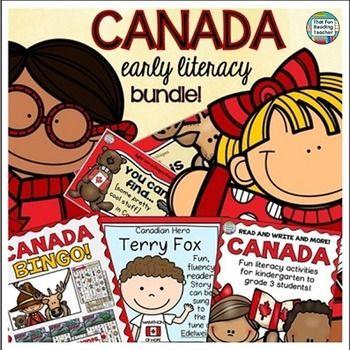 Canada Bundle for Kindergarten and Primary Students! #SaveWithBundles