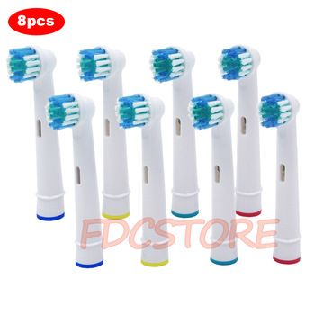 8x Replacement Brush Heads For Oral-B Electric Toothbrush Fit Advance Power/Pro Health/Triumph/3D Excel/Vitality Precision Clean  Price: 3.90 USD