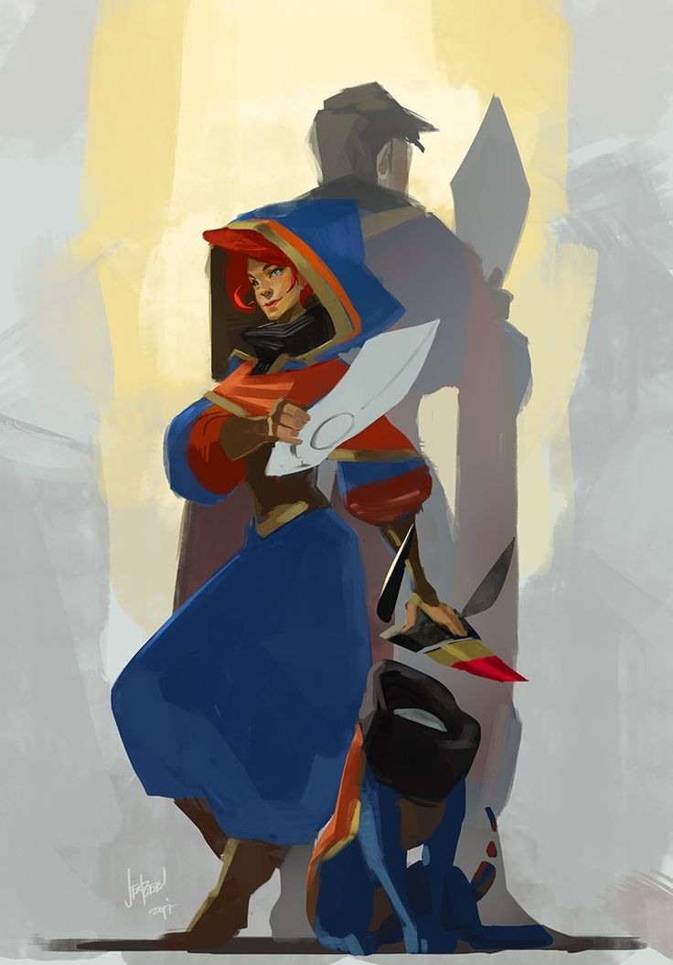 Team Red (Transistor x Pyre) by JenZee.deviantart.com on @DeviantArt
