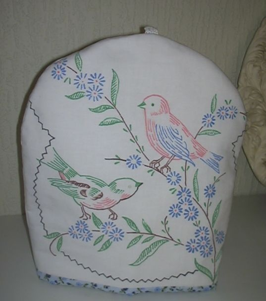 teacozy. from a tablecloth