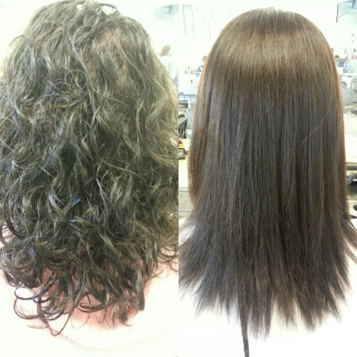 Permanent Hair Straightening 25 Best Ideas About Permanent
