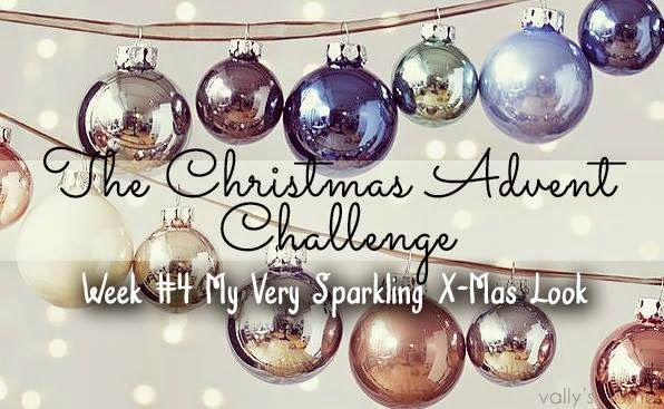 This is me » Nail polish blog: The Christmas Advent Challenge - Week #4 ~ My very sparkling Christmas look