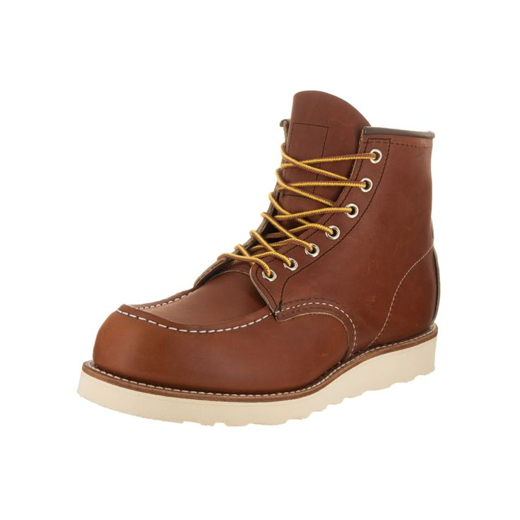 "Red Wing Shoes Men's Moc-Toe 6"" Boot"