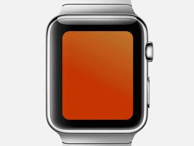Apple Watch: UI Animation for Tango Calls Concept / Mikhail Belstar