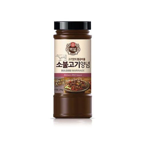 [불고기] {CJ-Beksul} Beef Bulgogi Marinade Korean BBQ Sauce >10 Ingredient 290g (10.23oz)