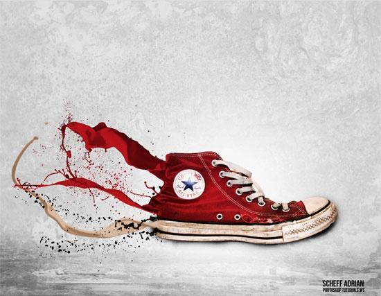 Splashing-Sneaker