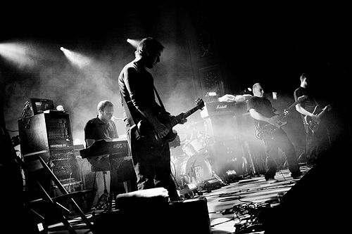 Mogwai are a Scottish post-rock band, formed in 1995 in Glasgow.