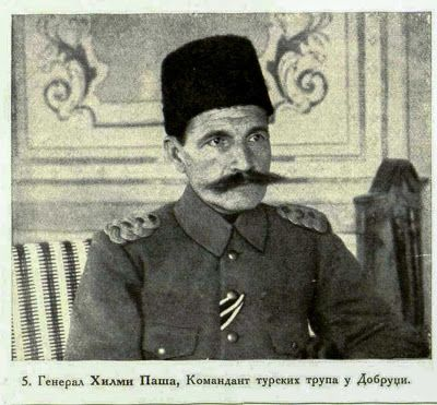 General Hilmi Pacha, Commander of the Turkish military Forces at Dobrudža  - Turkey WW1 Leaders