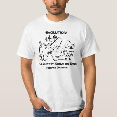 Evolution Richard Dawkins Tee - tap, personalize, buy right now!