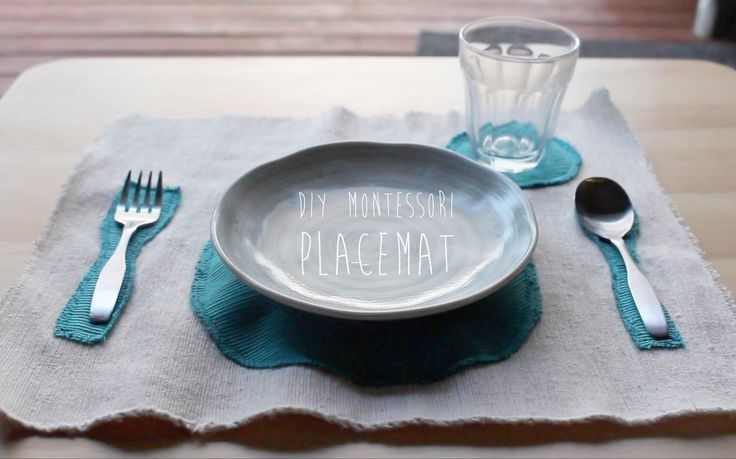 DIY Montessori Placemat