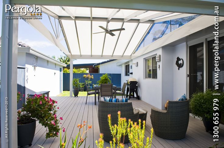 Maximise the feeling of space with higher roofs and gables. Use polycarbonates to retain much loved light.