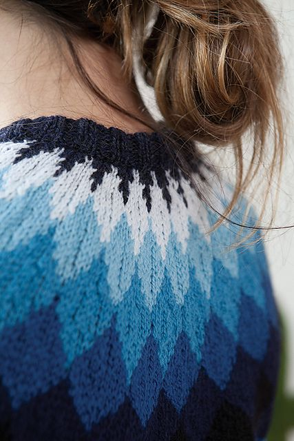 Ravelry: Phased Yoke Pullover pattern by Kerin Dimeler-Laurence
