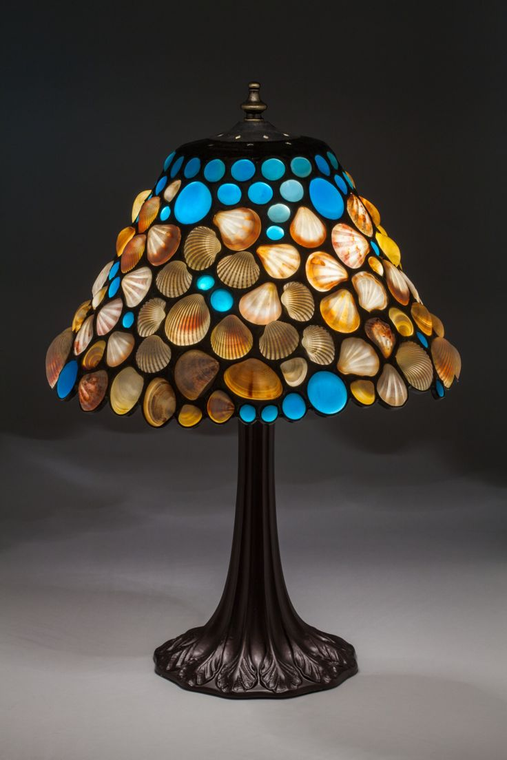17 Best Images About Sea Shell Lamp Shades On Pinterest