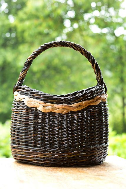 Mai Hvid Jorgensen - Willow and Rush basket with Catalan Base by Tim Johnson, via Flickr