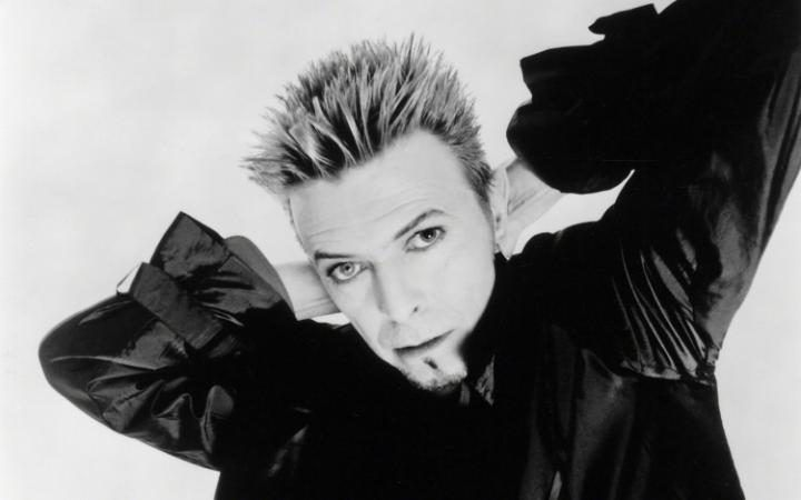 David Bowie in 1996