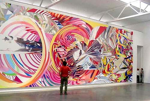 James Rosenquist............power is color and image that excites the imagination!