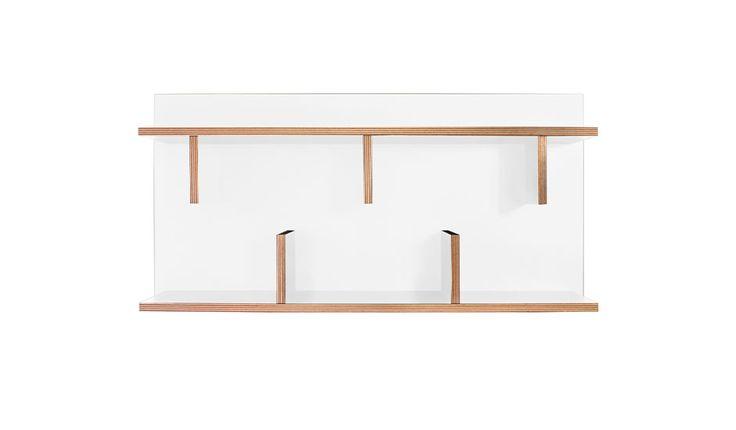 MONOQI | 90 cm Bern Wall Unit - White