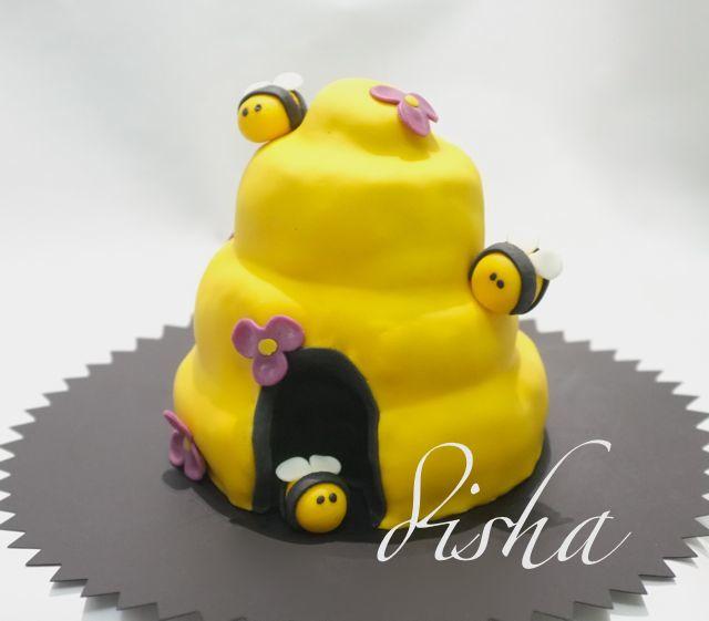 Bees cake (dort včelky)