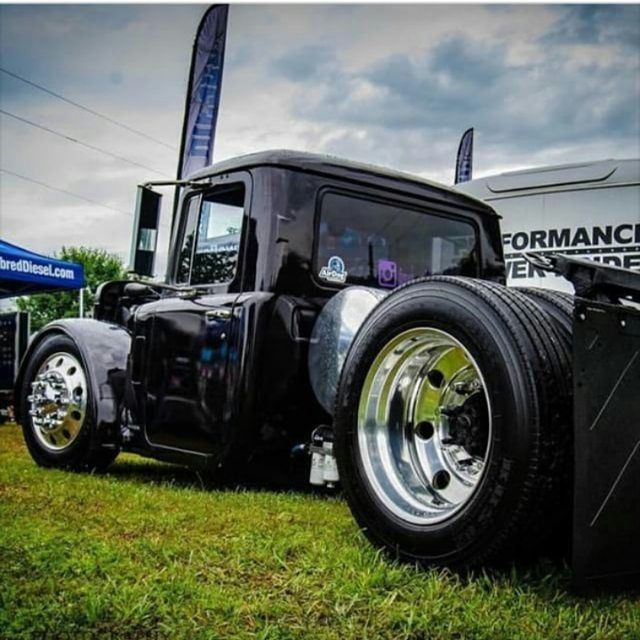 Mack Truck Rod Before And After: 259 Best Big Rig Hot Rods Images On Pinterest